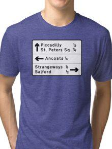 Strangeways, Here We Come (via Miller Street) Tri-blend T-Shirt