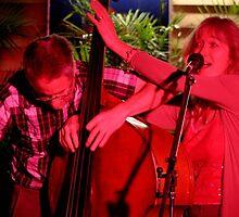 Gulgong Double handed bass by ElizabethWalton