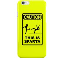 Caution: Sparta iPhone Case/Skin