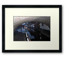 Under the Canal Bridge, Birmingham Framed Print