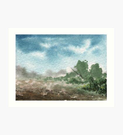 Zen Landscape 2 Art Print