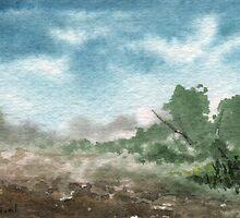 Zen Landscape 2 by Sean Seal