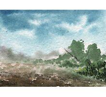 Zen Landscape 2 Photographic Print