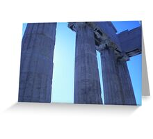 A Day in Acropolis Greeting Card