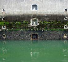 Ship's Lock at lake Grevelingen, the Netherlands by VanOostrum