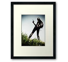 Ray Gun Zentai 2012 Set II Pic 01 Framed Print