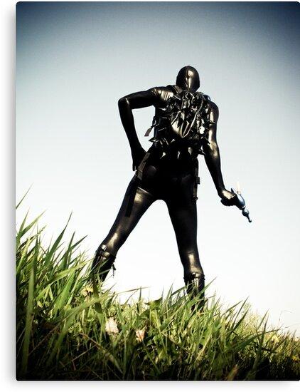 Ray Gun Zentai 2012 Set II Pic 02 by mdkgraphics