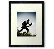 Ray Gun Zentai 2012 Set II Pic 03 Framed Print