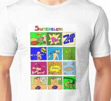 Superclerk (white background) T-shirt Design Unisex T-Shirt