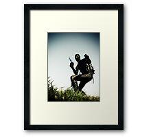 Ray Gun Zentai 2012 Set II Pic 04 Framed Print