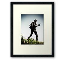 Ray Gun Zentai 2012 Set II Pic 05 Framed Print