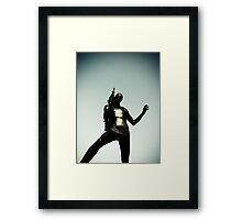Ray Gun Zentai 2012 Set II Pic 14 Framed Print