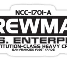 USS Enterprise NCC-1701-A Sticker
