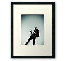 Ray Gun Zentai 2012 Set II Pic 15 Framed Print