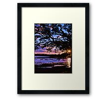 Beaufort Sunset Framed Print