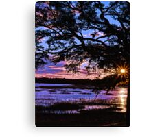 Beaufort Sunset Canvas Print
