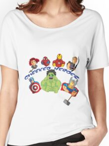 cheeked heroes 2 Women's Relaxed Fit T-Shirt