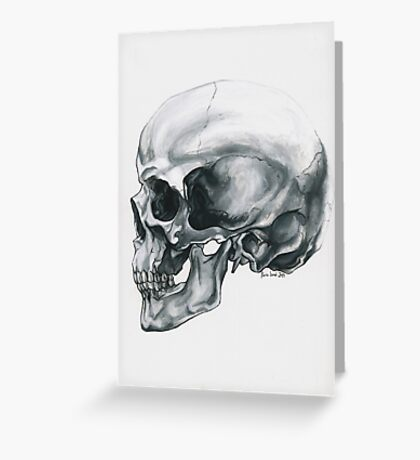 Behind the Face Greeting Card