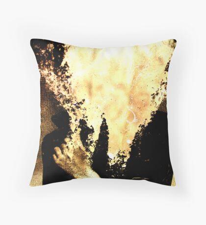sallie mann homage Throw Pillow