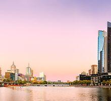 Summer in the City - Melbourne, Victoria, Australia by Sean Farrow