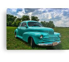 1948 Chevrolet Custom Street Rod Metal Print