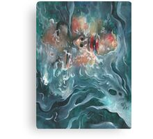 Liquified  Canvas Print
