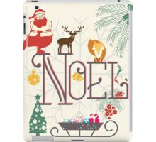 Christmas Noel iPad Case/Skin