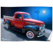 A Girl, A Song, and a Pickup Truck Poster