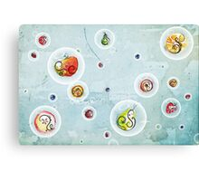 Sweet Fruit Lemonade Canvas Print