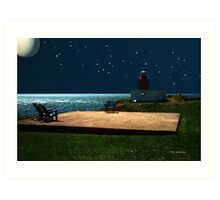Ocean Oasis Art Print