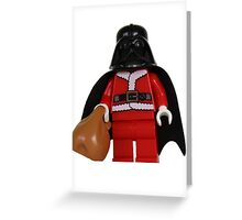 Santa Darth Vader Greeting Card