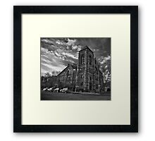 Methodist Episcopal B/W Framed Print