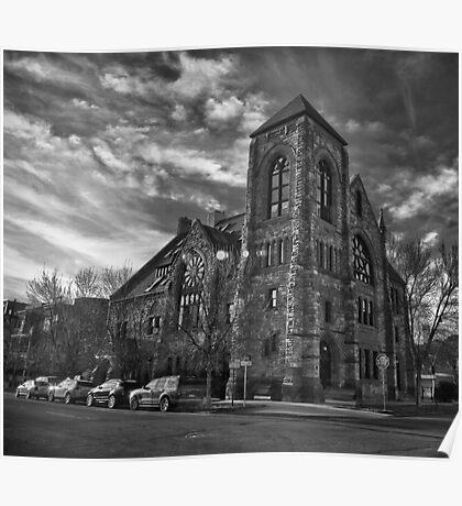 Methodist Episcopal B/W Poster