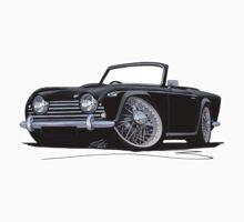 Triumph TR5 Black by Richard Yeomans