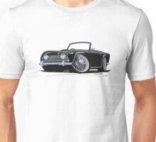 Triumph TR5 Black Unisex T-Shirt