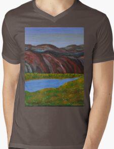 009 Landscape Mens V-Neck T-Shirt
