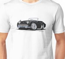 Triumph TR3A Black Unisex T-Shirt