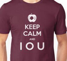 KEEP CALM and I O U Unisex T-Shirt
