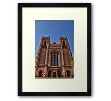 All Who Enter Are Blessed Framed Print
