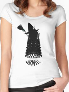 Defying Gravity version 2 Women's Fitted Scoop T-Shirt