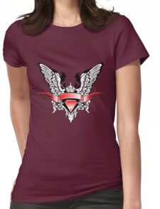 Ribbons Vector Womens Fitted T-Shirt