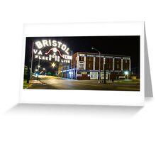The Landmark Bristol Sign Greeting Card