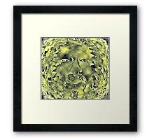 Jeffrey Jerry GreenMan Framed Print