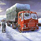 Bristol HA British Road Services by Mike Jeffries