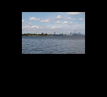 "Toronto (The 6) Skyline ""Halves"" by asroya"