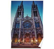 Cathedral Basilica of Immaculate Conception Poster