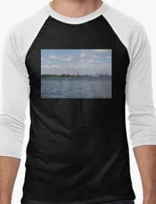 "Toronto (The 6) Skyline ""Halves"" Men's Baseball ¾ T-Shirt"