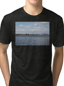 "Toronto (The 6) Skyline ""Halves"" Tri-blend T-Shirt"