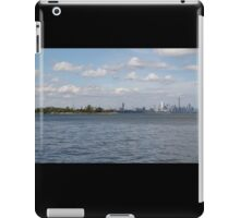 "Toronto (The 6) Skyline ""Halves"" iPad Case/Skin"
