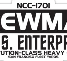 USS Enterprise Sticker